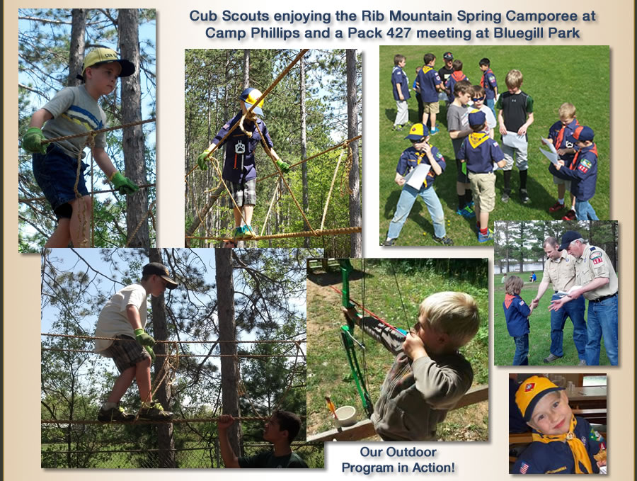 Current Activities of Cub Scouts 427 Program